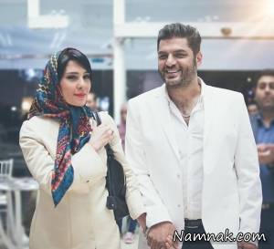 سام درخشانی و همسرش در جشنواره ترکیه