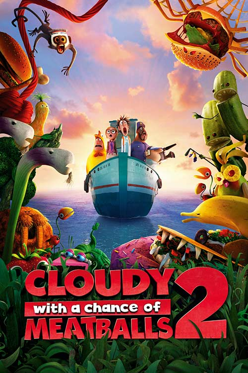 دانلود فیلم Cloudy with a Chance of Meatballs 2