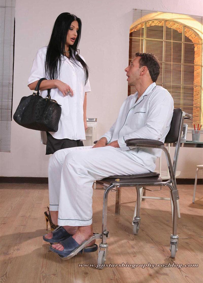 آلتا اون و شوهرش در حال مذاکره - Aletta Ocian And His Husband