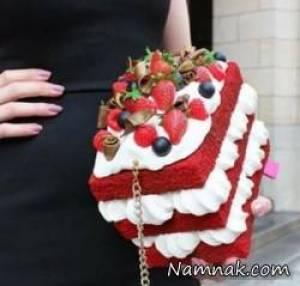 مدل کیف زنانه به شکل خوراکی های خوشمزه