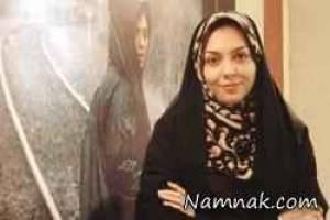 عکس آزاده نامداری در مکه