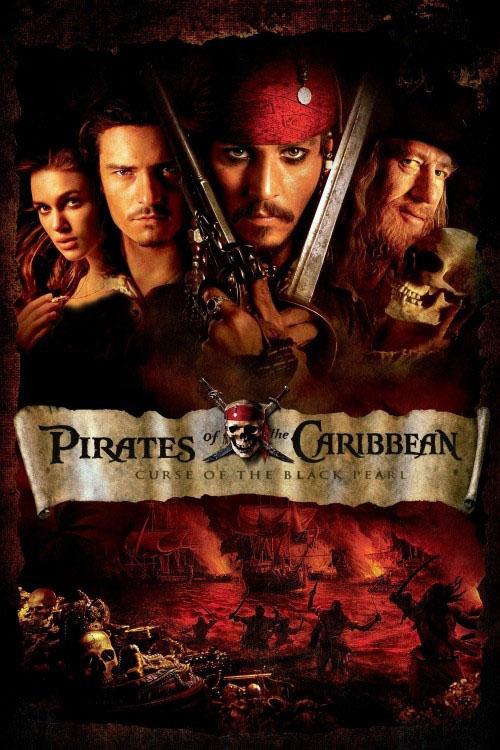 دانلود دوبله فارسی فیلم دزدان دریایی کارائیب 1 Pirates of the Caribbean: The Curse of the Black Pearl 2003
