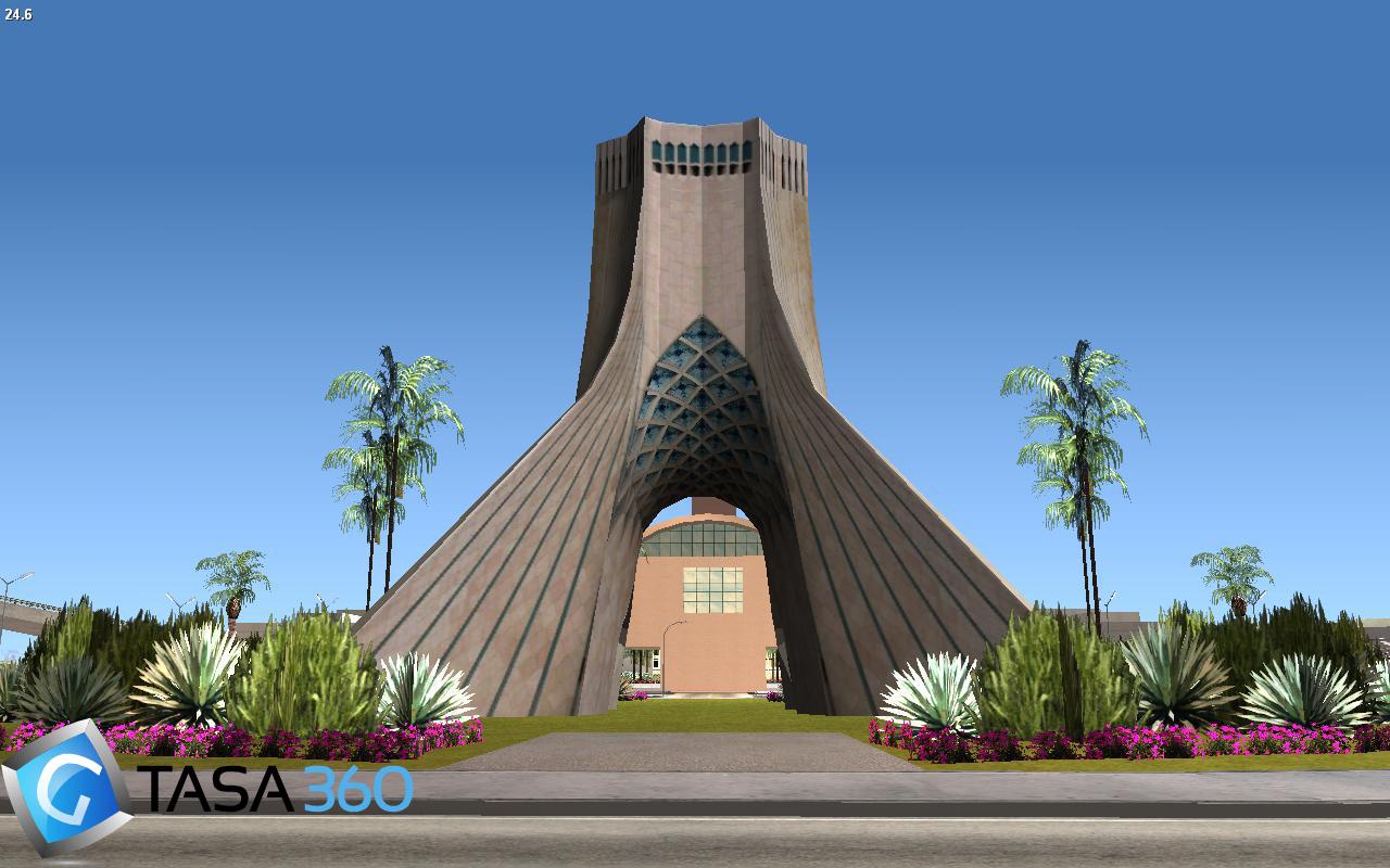 برج آزادی برای gta sa