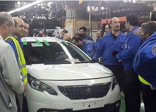 اولین پژو 2008 ایران خودرو تولید شد /ببینید