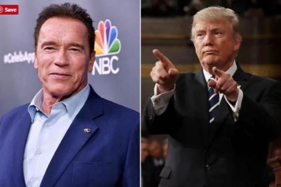 ترامپ این بار به آرنولد گیر داد
