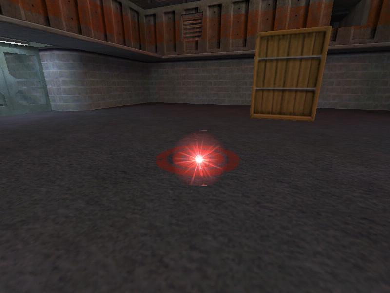 دانلود ال ای دی قرمز بمب intense red glow برای کانتر 1.6