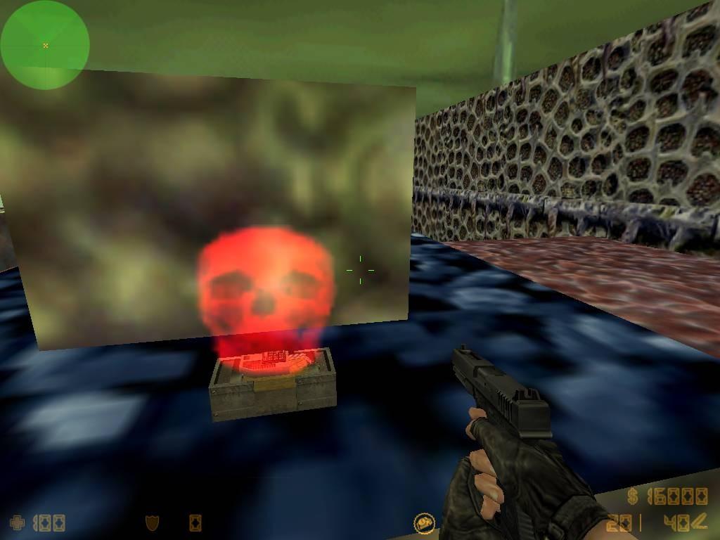 دانلود ال ای دی بمب Skull برای کانتر استریک 1.6