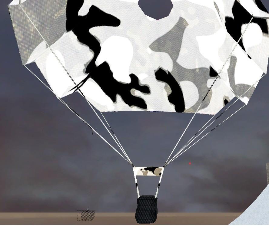 دانلود اسکین چتر نجات ارتشی Artic camo parachute برای کانتر استریک 1.6