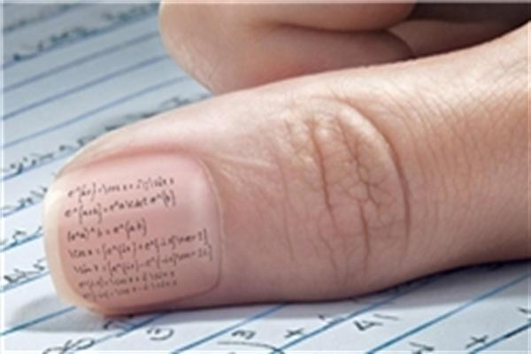 ترفند تقلب کردن در امتحانات