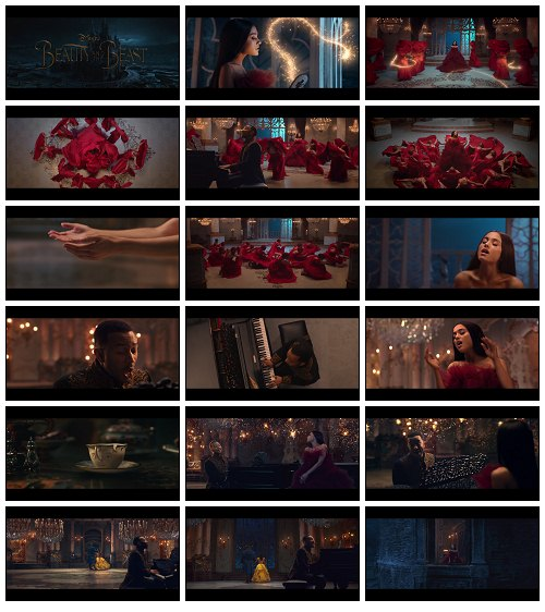 دانلود موزیک ویدئو جدید Ariana Grande ft John Legend به نام Beauty and the Beast