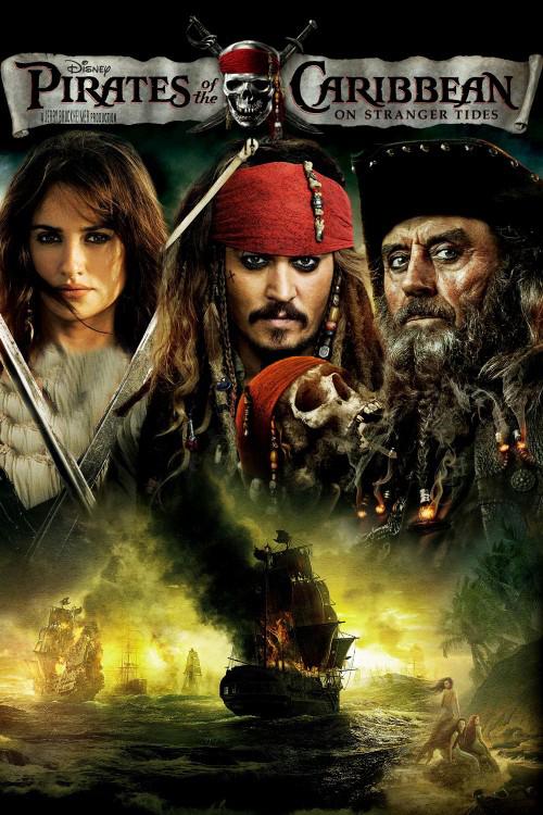 دانلود دوبله فارسی فیلم دزدان دریایی کارائیب 4 Pirates of the Caribbean: On Stranger Tides 2011