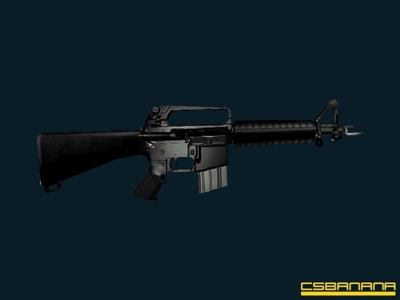 دانلود اسکین ام فور M16 برای کانتر استریک 1.6