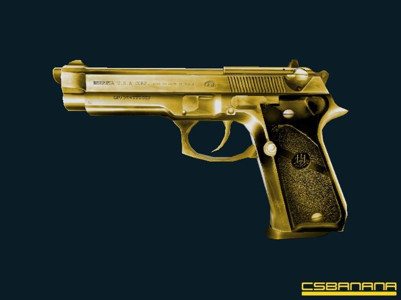دانلود اسکین دیزرت Golden/Yellow برای کانتر استریک 1.6