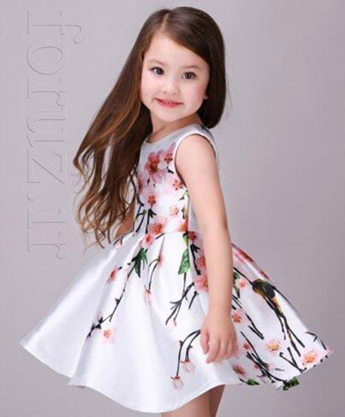 مدل لباس بهاری و تابستانی دختر بچه ها 2017