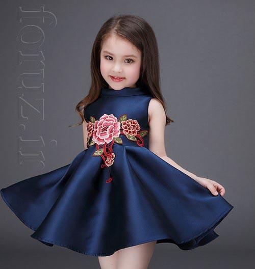 مدل لباس بهاری دختربچه ها,