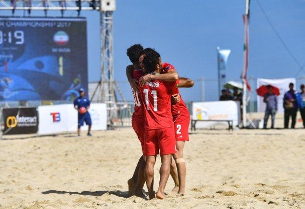 تیم ملی فوتبال ساحلی ایران قهرمان آسیا شد