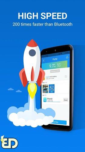 انتقال سریع فایلهای گوشی با SHARE it