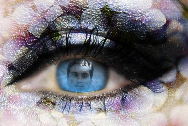 چشمانت...