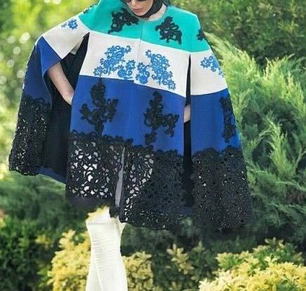 مدل مانتو شنلی بهاری,
