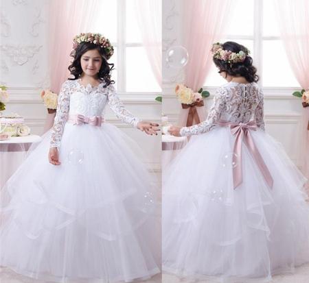 مدل لباس عروس بچه گانه 96