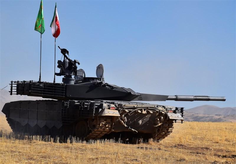 رونمایی از پیشرفتهترین تانک ایران
