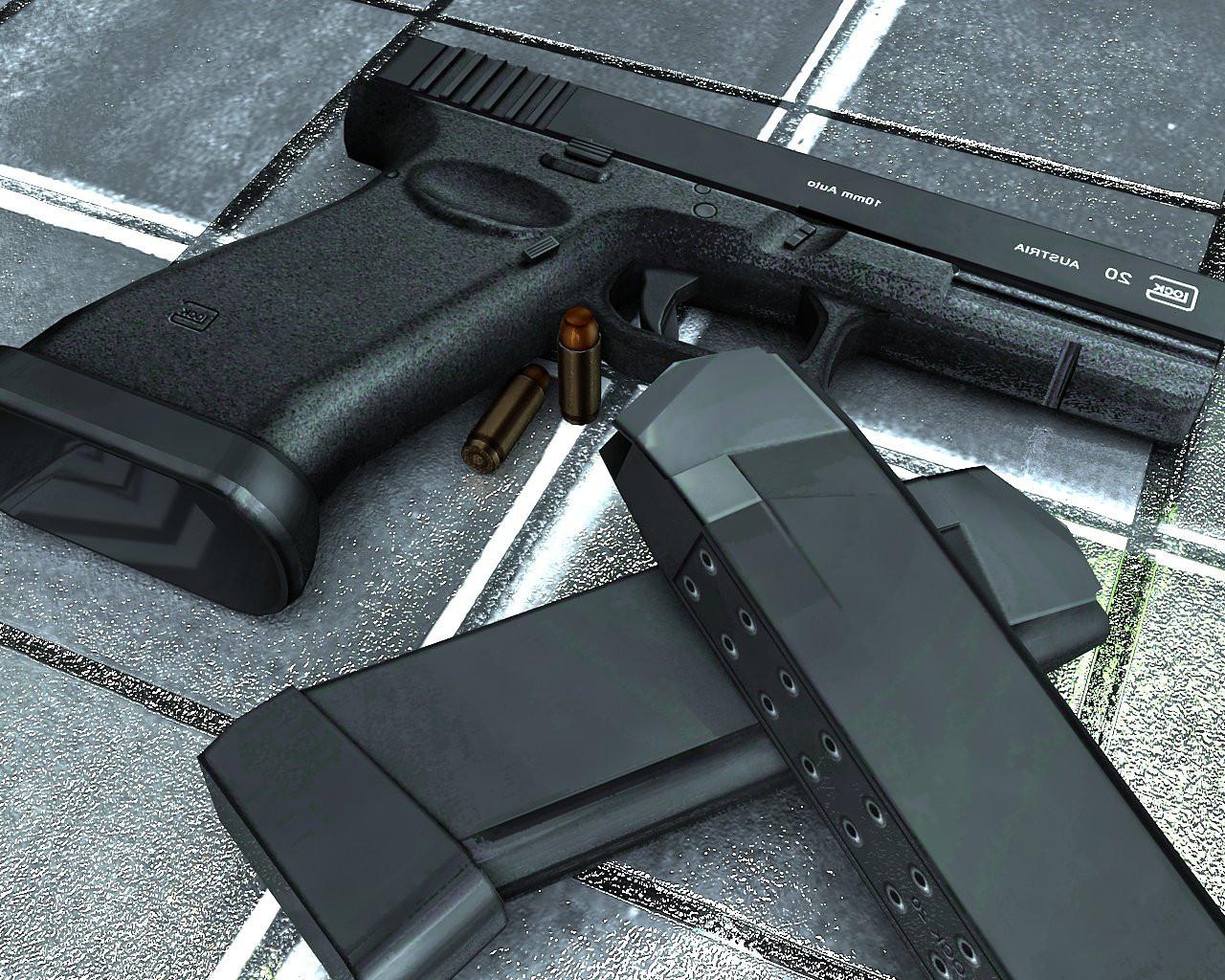 دانلود اسکین گلاک Glock 20 On برای کانتر استریک 1.6
