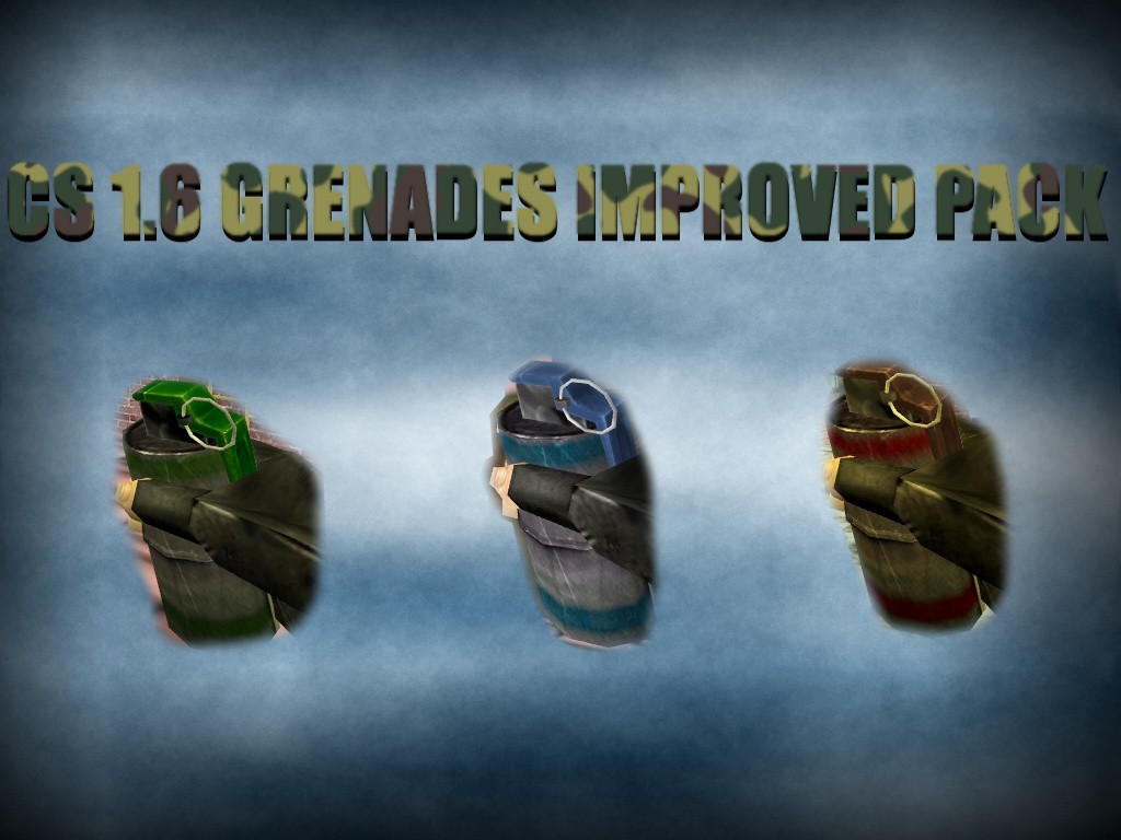 دانلود اسکین ایتم Improved Grenades برای کانتر استریک 1.6