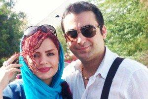 جدیدترین عکس بارداری سپیده خداوردی با همسرش