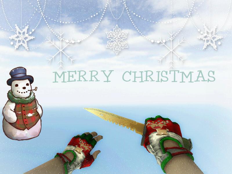 دانلود دست کش Christmas Hand برای کانتر استریک 1.6