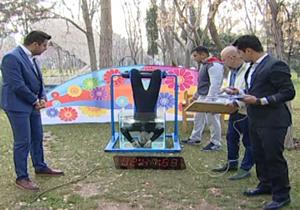 دانلود فیلم  تشنج کردن داوطلب شکستن رکورد گینس در برنامه زنده علی ضیا