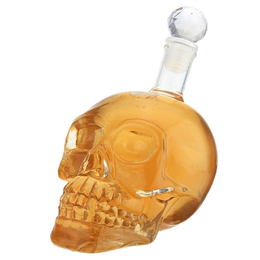 خرید بطری جا مایعات شکل جمجمه
