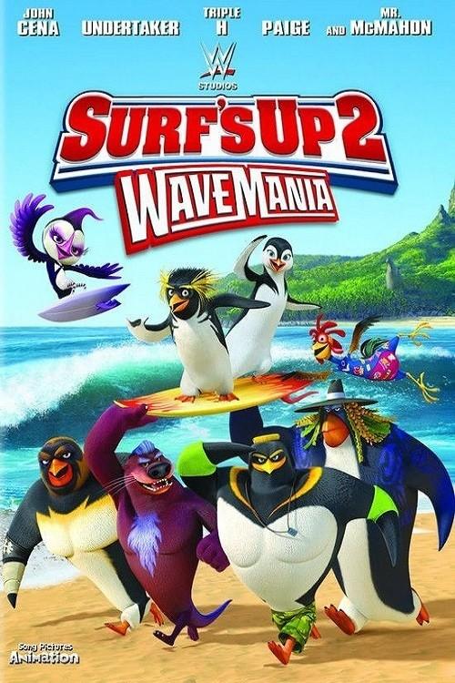 دانلود انیمیشن Surfs Up 2: WaveMania 2017 با دوبله فارسی