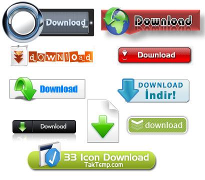 دانلود دکمه download برای سایت