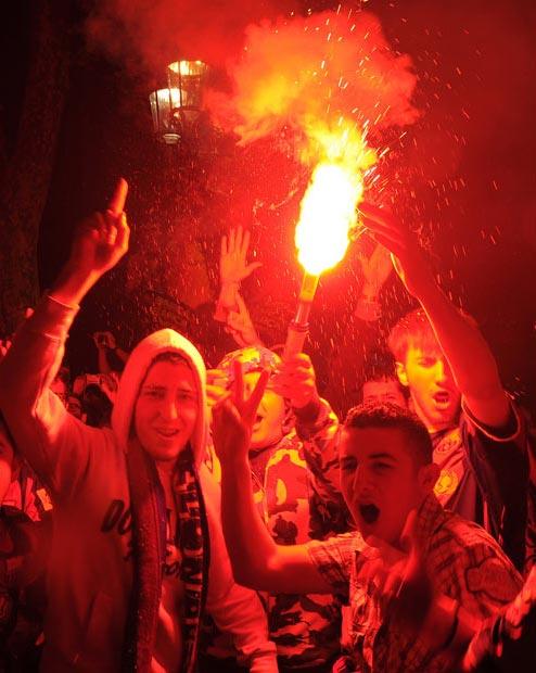 هواداران تیم فوتبال بارسلونا