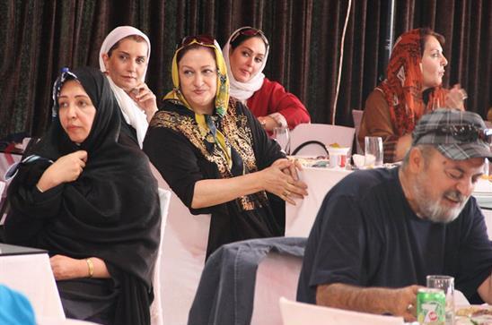 عکس بازیگران در سفر تفریحی به تبریز