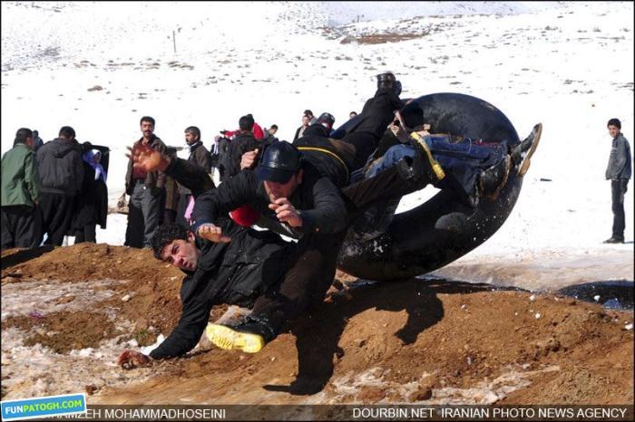 عکس های تفریح تهرانی ها در پیست آبعلی