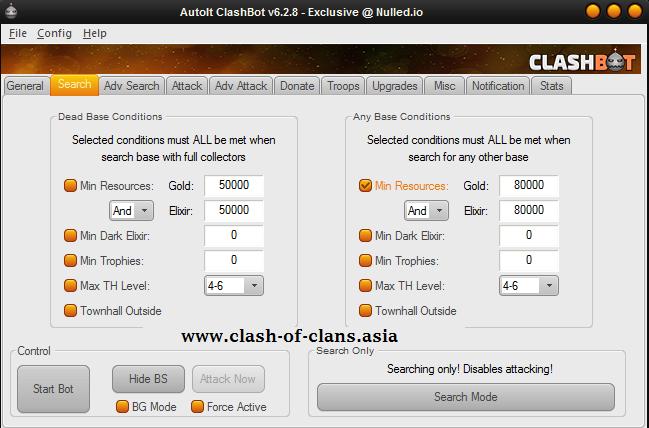 دانلود ربات کلش اف کلنز (ClashBot_6.2.9)