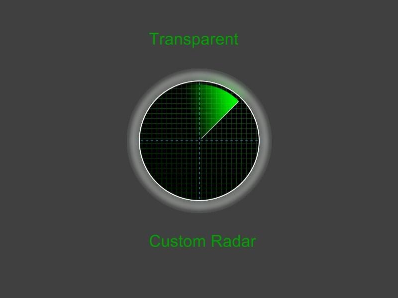 دانلود راهدار Custom Radar برای کانتر 1.6