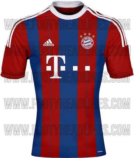 پیراهن جدید تیم بایرن مونیخ