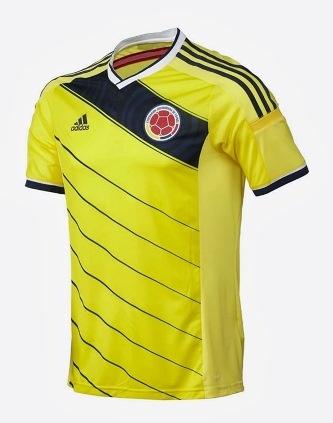 پیراهن تیم ملی کلمبیا در جام جهانی 2014