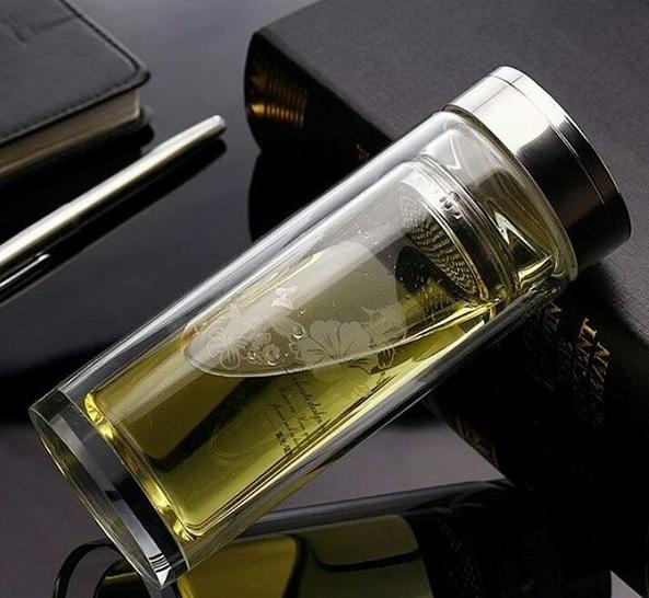خرید لیوان مخصوص دمنوش مدل Glass دو جداره
