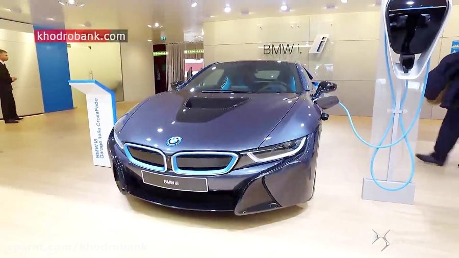 بی ام و i8 در نمایشگاه خودرو ژنو