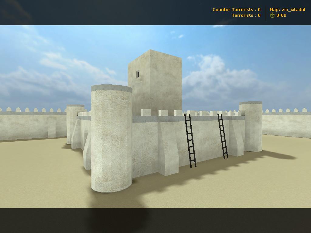 دانلود مپ زامبی zm_citadel برای کانتر استریک 1.6
