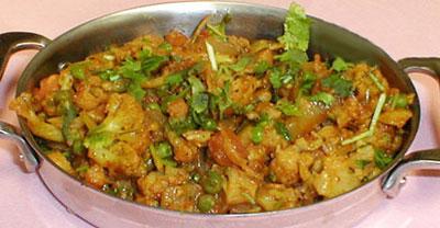 طرز تهیه یک نوع غذای هندی
