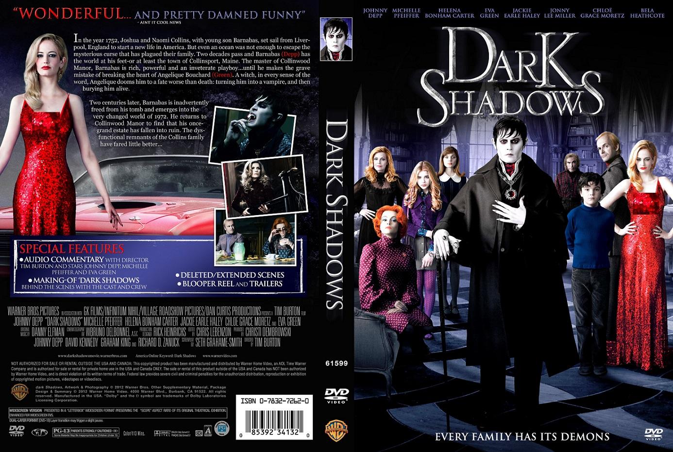 دانلود فیلم Dark Shadows 2012
