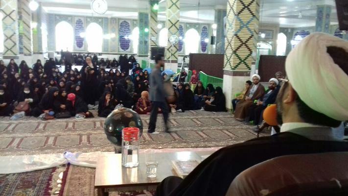 مراسم پیاده روی خواهران به مناسبت ولادت با سعادت حضرت زهرا (س)