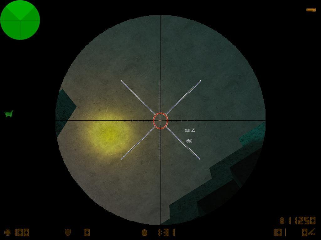 دانلود اسکوپ Sniper scope برای کانتر استریک 1.6