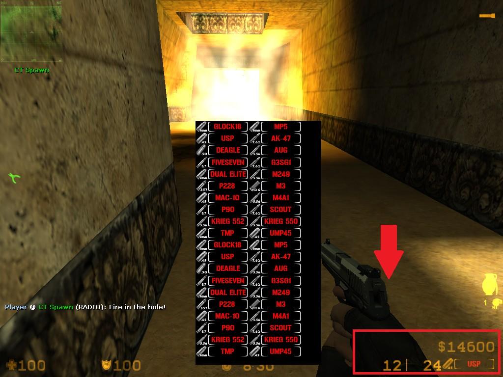 دانلود اچ او دی Weapon Names Reworked برای کانتر استریک 1.6