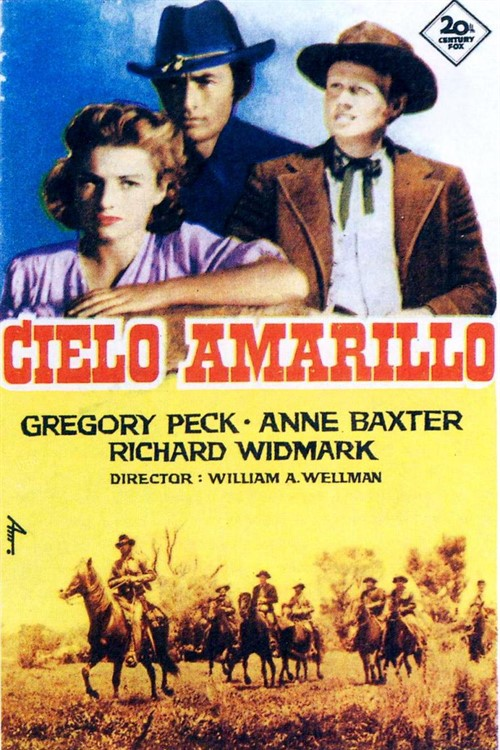 دانلود رایگان دوبله فارسی فیلم آسمان زرد Yellow Sky 1948