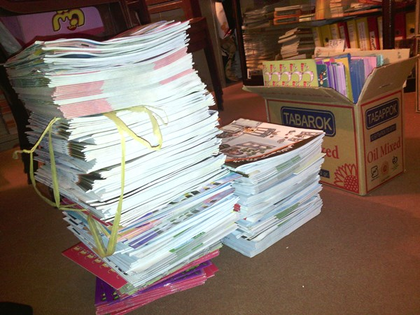 اهدای بیش از  هزار جلد کتاب به مهد سید محمد